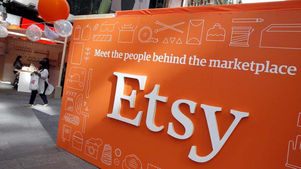Баннер с лого Etsy