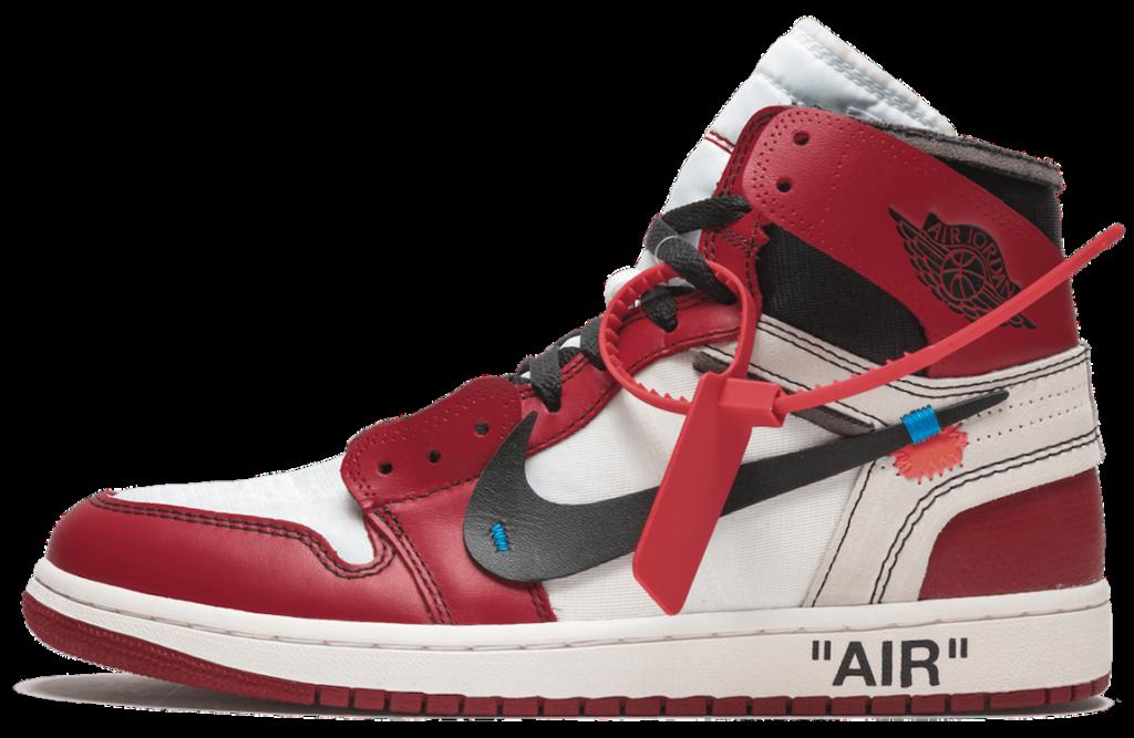 Jordan 1 ow chicago